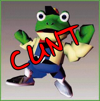 Slippy Toad the utter cunt
